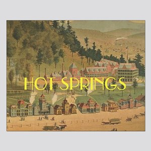 ABH Hot Springs Small Poster