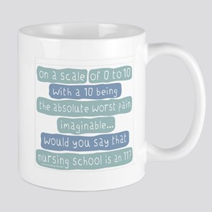 Nursing School Pain Scale Mug