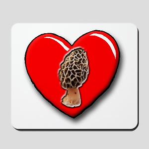 I Love Morels Mousepad