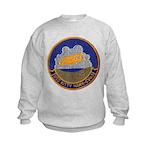 USS KITTY HAWK Kids Sweatshirt