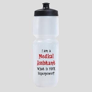 medical assistant Sports Bottle