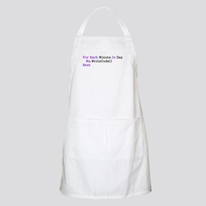 For Each Minute In Day... BBQ Apron