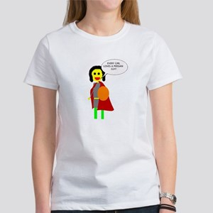 Persian Prince and Kilted Warrior Women's T-Shirt