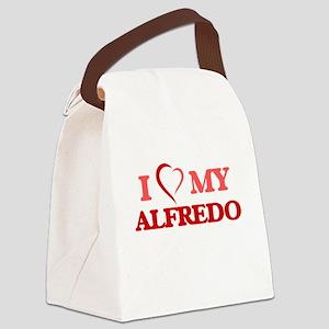 I love my Alfredo Canvas Lunch Bag