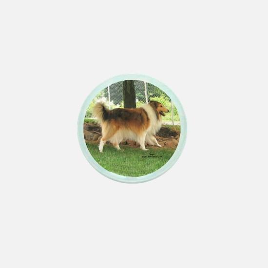 Lassie the Collie Mini Button