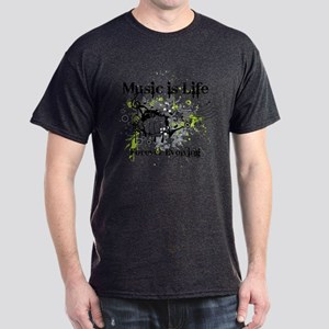 Music is life Dark T-Shirt