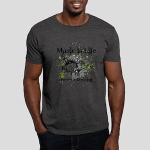 Music is life Dark T-Shirt