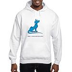 Spiky Hooded Sweatshirt