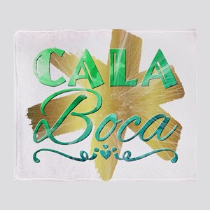 Cala Boca Throw Blanket