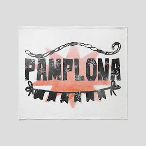 Pamplona Throw Blanket
