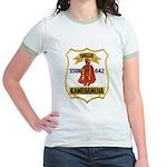 USS KAMEHAMEHA Jr. Ringer T-Shirt