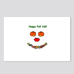 Happy Fall Yall! Postcards (Package of 8)