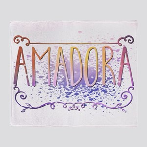 Amadora Throw Blanket