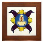 Troth Logo Framed Tile
