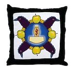 Troth Logo Throw Pillow