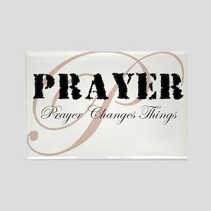 Prayer Rectangle Magnet