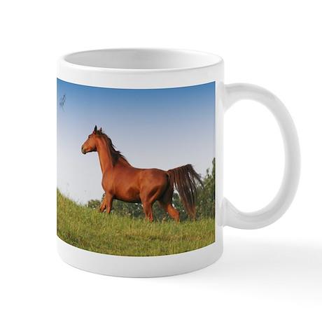 Mug with Sorrell Running Horse