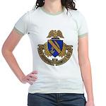 USS JOSEPHUS DANIELS Jr. Ringer T-Shirt