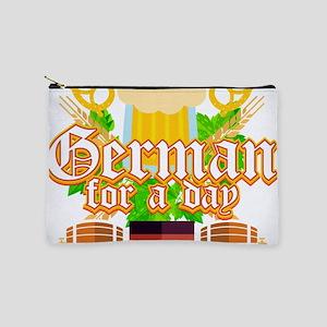 German For A Day Funny Oktoberfest Deut Makeup Bag