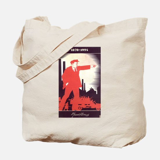 CCCP Lenin Tote Bag