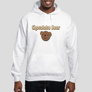 Chocolate Bear Hooded Sweatshirt