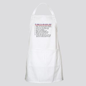 Ways to use your coal BBQ Apron