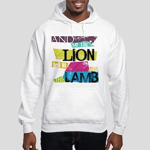 Lion <3 Lamb Hooded Sweatshirt