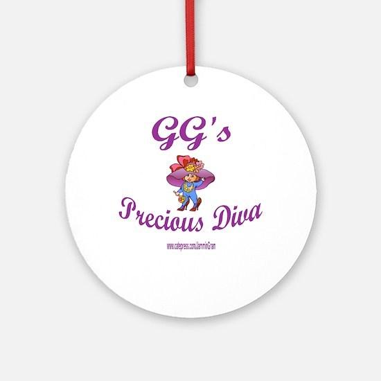 GG'S DIVA Ornament (Round)