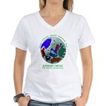 Kinship Circle Women's V-Neck T-Shirt