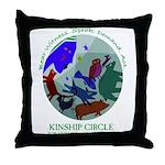 Kinship Circle Throw Pillow
