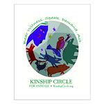 Kinship Circle Small Poster