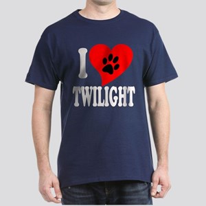 I Love Twilight Dark T-Shirt