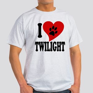I Love Twilight Light T-Shirt