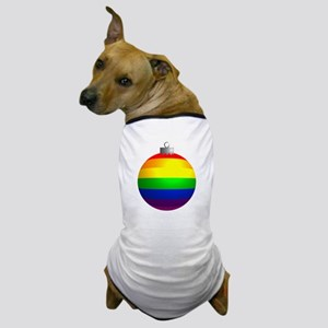 Rainbow Ornament Dog T-Shirt