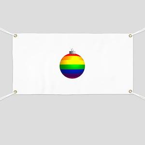 Rainbow Ornament Banner