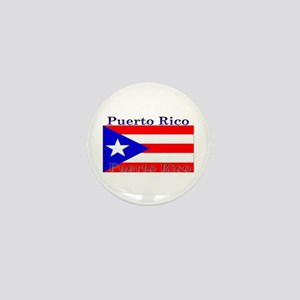 Puerto Rico Rican Flag Mini Button