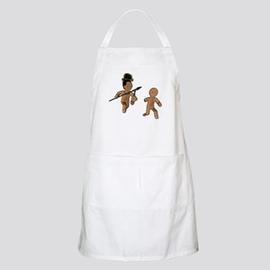 Gingerbread Cannibal BBQ Apron