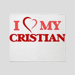 I love my Cristian Throw Blanket