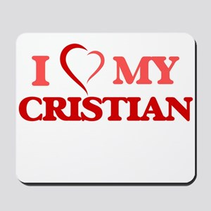 I love my Cristian Mousepad
