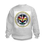 USS JOHN F. KENNEDY Kids Sweatshirt