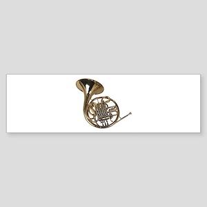 French Horn Bumper Sticker