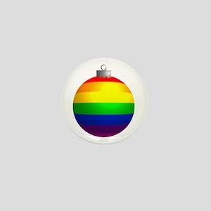 Rainbow Ornament Mini Button
