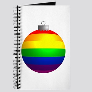 Rainbow Ornament Journal