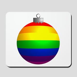 Rainbow Ornament Mousepad