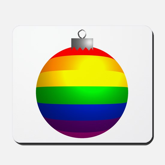 Rainbow Ornament Mousepad