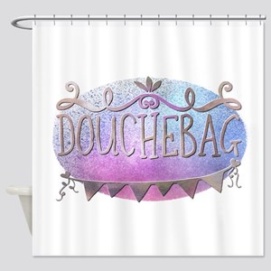 Douchebag Shower Curtain