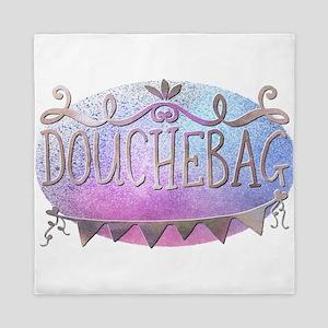 Douchebag Queen Duvet