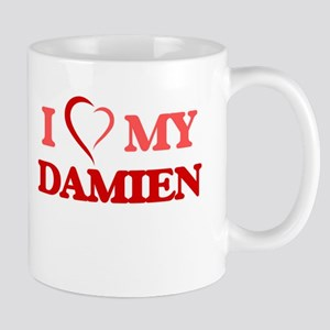 I love my Damien Mugs