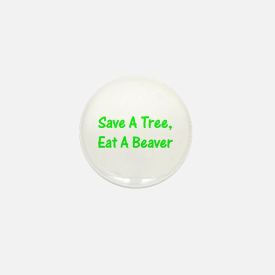 Save A Tree - Mini Button