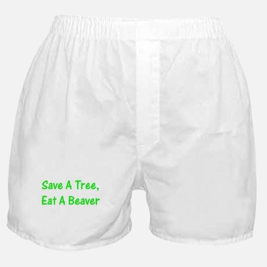 Save A Tree - Boxer Shorts